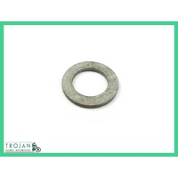 FRONT WHEEL SPINDLE NUT WASHER, TRIUMPH, TO 1956, GENUINE NOS, 37-0545