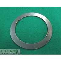 CLUTCH HUB THRUST WASHER WITH TABS, TRIUMPH, GENUINE, 57-1735