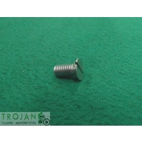 "CLUTCH BACKING COVER SCREW , 2BA x 3/8"", TRIUMPH, GENUINE, 70-3821"