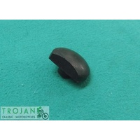 SEAT BUFFER RUBBER, D SHAPED, TRIUMPH, 1963-70, GENUINE, 82-4898