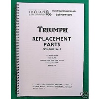 PARTS BOOK, TRIUMPH, 1968, TIGER 90, TIGER 100, BKP0008