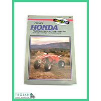 MANUAL, CLYMER, HONDA, FOURTRAX 250R, ATC250R, 1985-87, M348