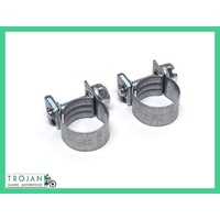 FUEL HOSE CLAMP, 12MM DIAMETER, TRADITIONAL (PAIR) TRIUMPH, NORTON, BSA, OTK0006
