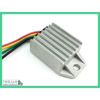REGULATOR, 6V POS, SOLID STATE, SUIT E3L,E3N DYNAMO, REPLACES LUCAS MCR2,REG0006