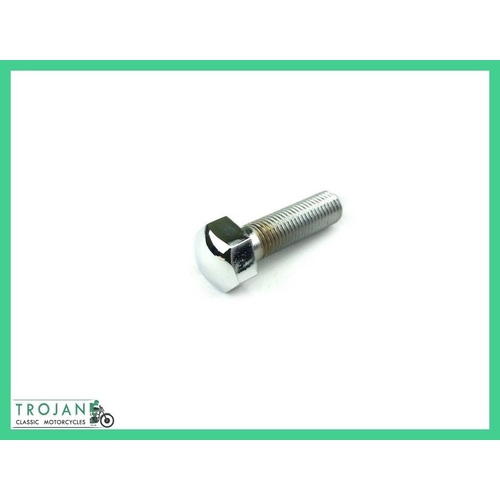 "HEADLAMP MOUNTING BOLT, 5/16"" x 26TPI x 1 1/4, TRIUMPH, 1932-60, GENUINE, 112201"
