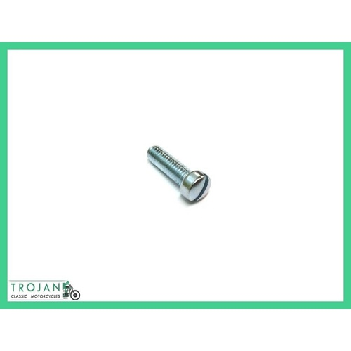 "LEVER MOUNTING SLOTTED SCREW, 1BA x 5/8"", TRIUMPH, GENUINE, 60-7025"