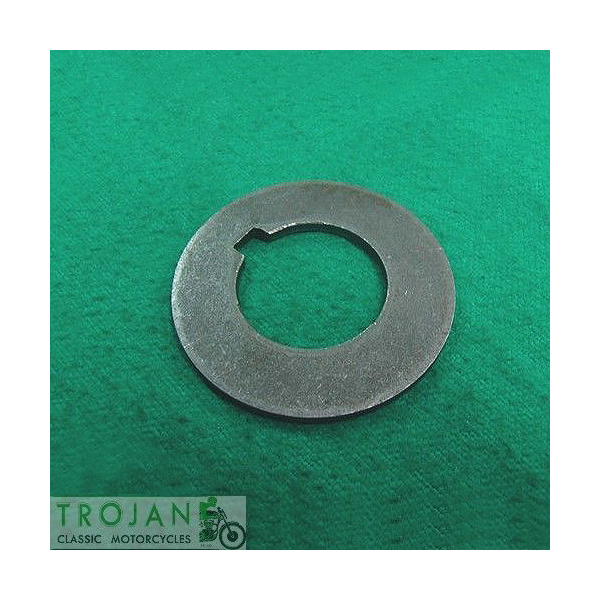 CRANK TIMING PINION BEARING CLAMPING WASHER, TRIUMPH, GENUINE, 70-3300