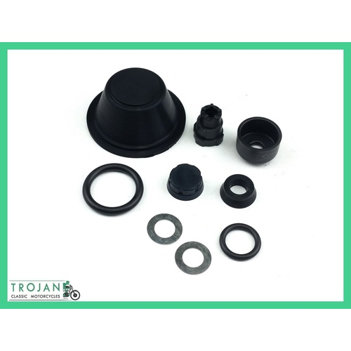 SEAL KIT, MASTER CYLINDER, TRIUMPH FRONT, NORTON REAR, GENUINE, 99-2768